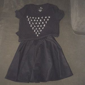Other - Skirt and fitted shirt Juniors Bundle